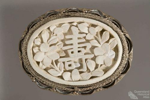 Chinese brooch