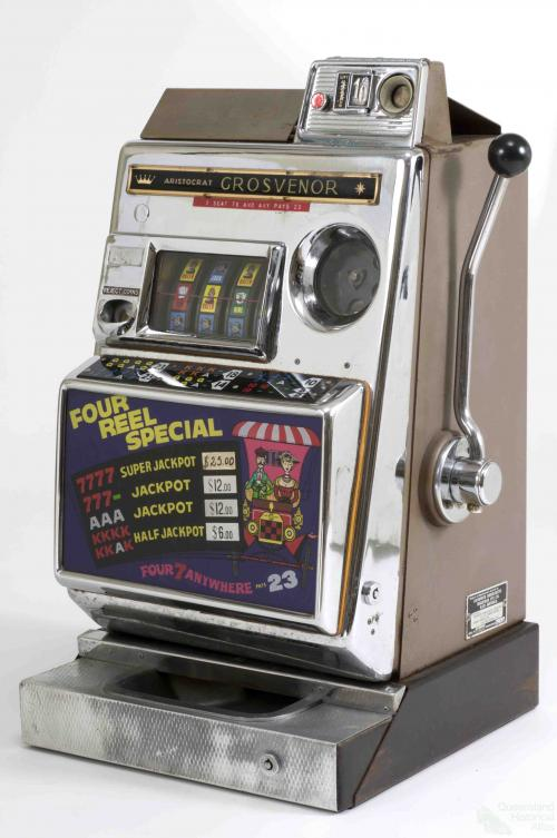Poker machine, 1964