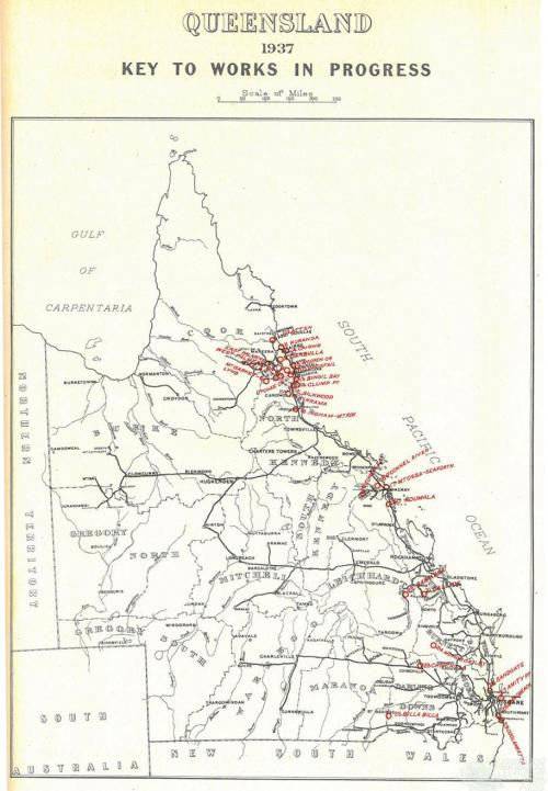 Queensland public estate improvements, 1937