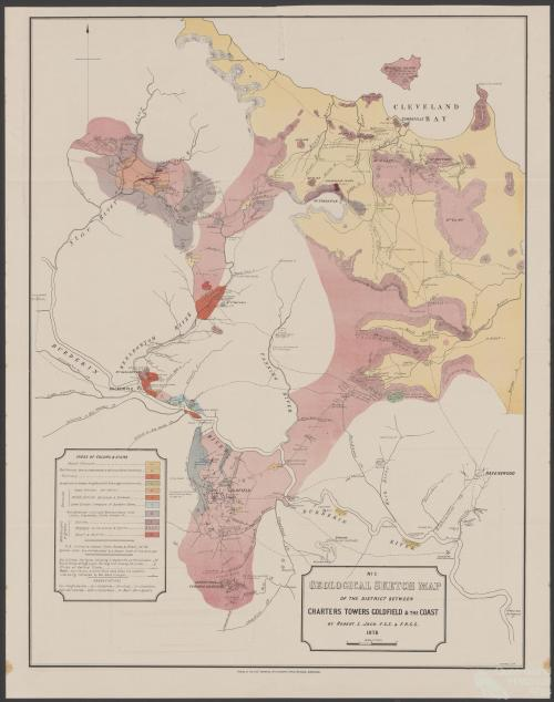 District between Charters Towers and the coast, 1878