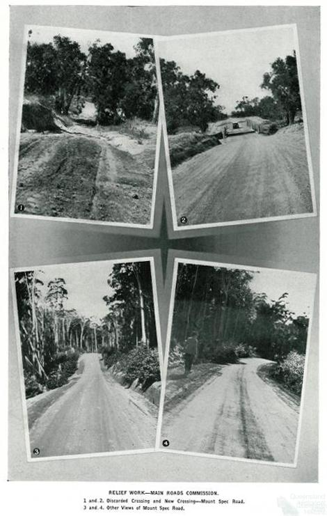 Views of Mount Spec Road, near Paluma, 1937