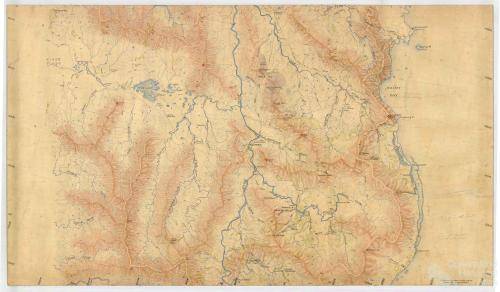 Aerial survey Cooktown to Daintree, Map 2, 1940