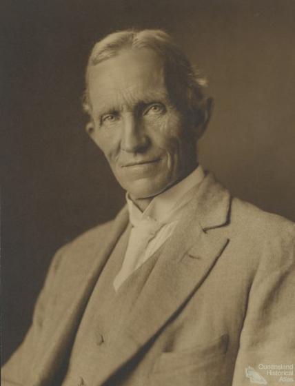 Portrait of T.W. Edgeworth David, c1916