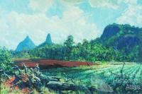 Glasshouse Mountains 1945