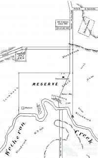 Byrnestown commune plan, 1890s