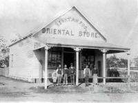 Henry Ah Foo's Oriental Store, Marshall Street, Goondiwindi, 1906