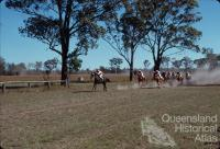 Picnic races at Burrandowan, near Kingaroy, 1979