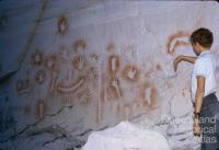 Aboriginal art, Carnarvon Gorge National Park, 1971
