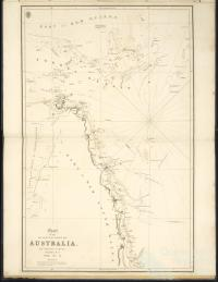 Chart of the NE Coast of Australia, 1819-21