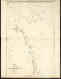 Chart of the NE Coast of Australia, 1819-21