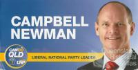 Campbell Newman, 2012