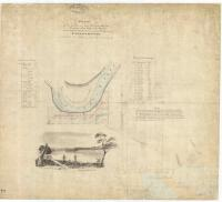 Plan of six farms on the Fitzroy River, Rockhampton, 1859