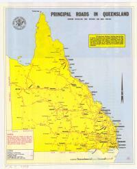 Principal roads in Queensland, 1979