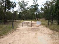 Lock the gate, Queensland, 2012