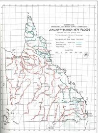 Queensland in flood, 1974