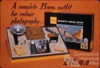 Kodak Retinette camera, 1958