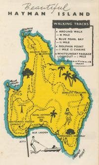 Hayman Island, 1968
