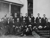 Members of the Postmaster General's Department, Queensland, 1900