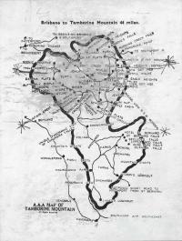 Map of Mount Tamborine, c1938