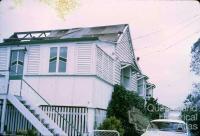 Cyclone Althea damage, Hyde Park, 1971