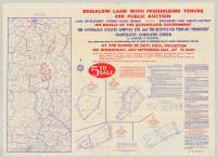 Brigalow land sale, 1965