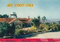 Mt Coot-tha Brisbane's beautiful scenic lookout, c1958
