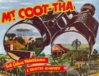 Mt Coot-tha, full colour panorama & selected glimpses, Brisbane, c1956