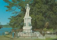 Monument to the pioneers of the sugar industry, Innisfail, 1980