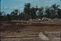 Digger Street soccerfield under construction Bundaberg, 1970