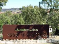 A stencil on a post-industrial landscape: Mt Morgan Goldmine 1882-1990