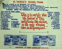 St Therese's School Tram, 1970