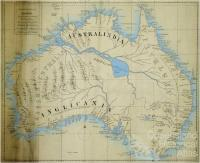 Sketch of the coasts of Australia and the supposed Entrance of the Great River, 1827