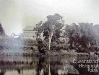 Goodna Asylum on the banks of the Brisbane River