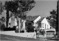 Interwar Spanish mission style home, Durack, Brisbane, 1972
