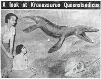 A look at Kronosaurus Queenslandicus, 1958