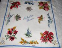 Australian flowers tablecloth
