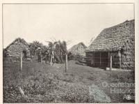 South Sea Islander huts, Childers, 1904