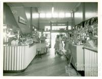 Espresso and milk bar, Londys café, Toowoomba, 1962