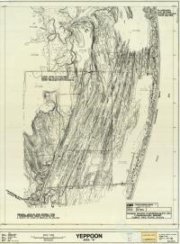 Farnborough (Iwasaki) resort, surge and flood levels, 1976, sheet 2