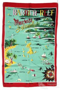 Tea-towel: Barrier Reef Pleasure Islands