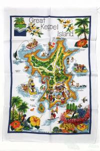 Tea-towel: Great Keppel Island