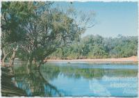 Channel Country billabong, 1980
