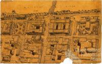 Queens Gardens and proposed inner city development, c1920
