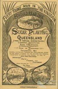 Sugar planting in Queensland
