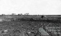 Ploughing phase on Peak Downs, 1948