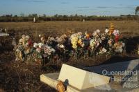 Graves, Normanton Cemetery, 1986