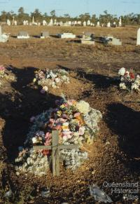 Graves, Normanton Cemetery, 1986