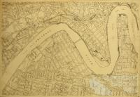 United States Army map of Brisbane, c1941