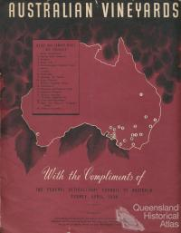 Australian Vineyards, 1938