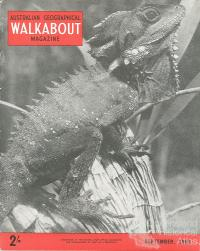 Walkabout cover, September 1953